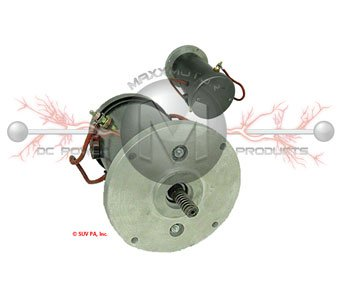 300105 Motor  for Autocrane & Dunmoore with Worm Gear Shaft Includes Mounting plate