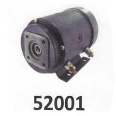 2200218, GC123DC4  Barnes Haldex motor 2 Posts Slotted Shaft