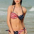 Ladies Stars and Stripes Bikini