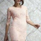 Pink/Peach Lace Dress