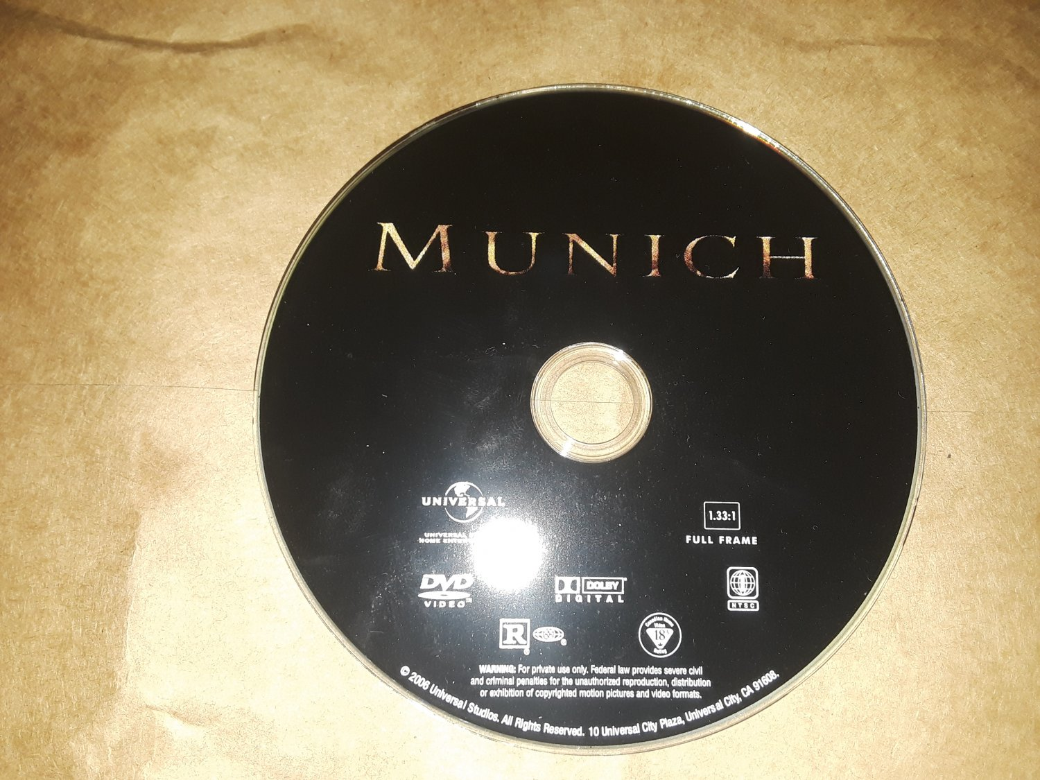 MUNICH (2005) (DISC ONLY) (USED)
