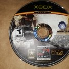 AMERICA'S ARMY RISE OF A SOLDIER (ORIGINAL XBOX) LIVE (DISC ONLY) (USED)