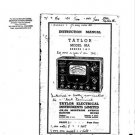 Taylor 85A Series 2 Instructions with Schematics etc