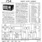 Ultra U405 U-405 Vintage Wireless Repair Schematics etc