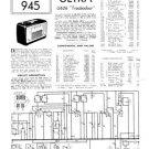 Ultra U626 U-626 Troubadour Vintage Wireless Repair Schematics etc