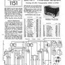 Ultra U6961 U-6961 Vintage Wireless Repair Schematics etc