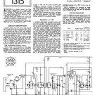 Ultra U940B U-940B Vintage Wireless Repair Schematics etc