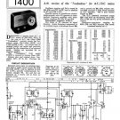 Ultra U960 U-960 Vintage Wireless Repair Schematics etc