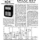 Ekco B39 B-39Technical Repair Schematics etc