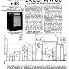 Ekco RG109 RG-109 RadiogramTechnical Repair Schematics etc