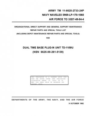 Military TO 33D7-49-84-4 Service Manual