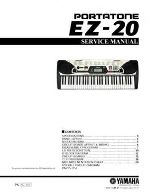 Yamaha EZ150 EZ-150 Service Manual