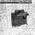 Yamaha FC10F FC-10F Service Manual