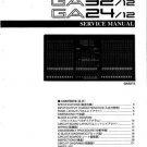 Yamaha GA15 GA-15 Service Manual
