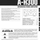 Teac AH300 A-H300 AH-300 Operating Guide