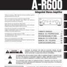 Teac AR600 A-R600 AR-600 Operating Guide (2)