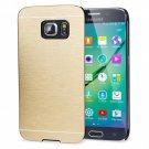 Olixar Brushed Metal Case for Samsung S6 Edge - Gold