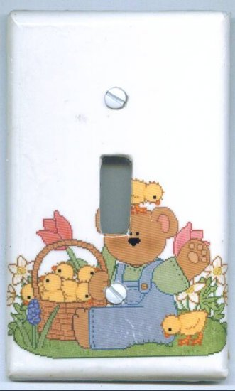 Bear and Ducks Light Switch Cover