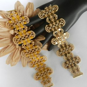 Handmade Beaded Ovalado Bracelet