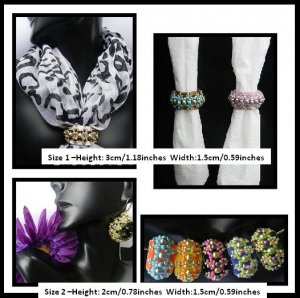 Handmade 2 Sizes Dilly Tilly Beaded Beads