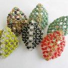 1 Handmade Beaded Polygon Daisy Ring