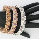 1-Handmade Beaded Xanadu Bangle