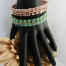 1- Handmade Beaded Soul Mates Bangle