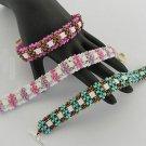 1- Handmade Beaded Pandora's Bracelet