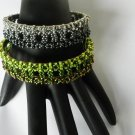 1- Handmade Beaded Jeeper Creeper Bangle