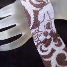 Handmade Skull Peyote Bracelet Cuff