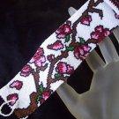 Handmade Cherry Blossom Tree Peyote Bracelet Cuff