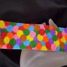 Handmade Smarties Peyote Cuff Bracelet
