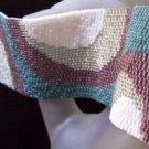 Handmade Beaded Undefined Lines Peyote Bracelet Cuff