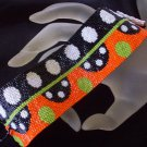 Handmade Beaded Ultra Retro Peyote Bracelet Cuff