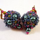 Handmade Beaded Bead Earrings