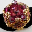 Handmade Beaded Dushi Ring