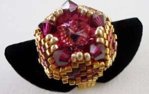 Handmade Beaded Dushi Ring
