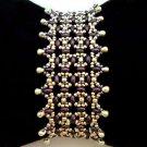 Handmade Beaded Terra Twins Bracelet