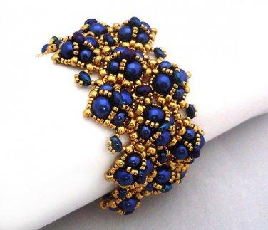 Handmade Beaded Perpetua Bracelet