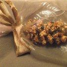 Handmade Peanut Butter & Bird Seed Pine Cone Feeder