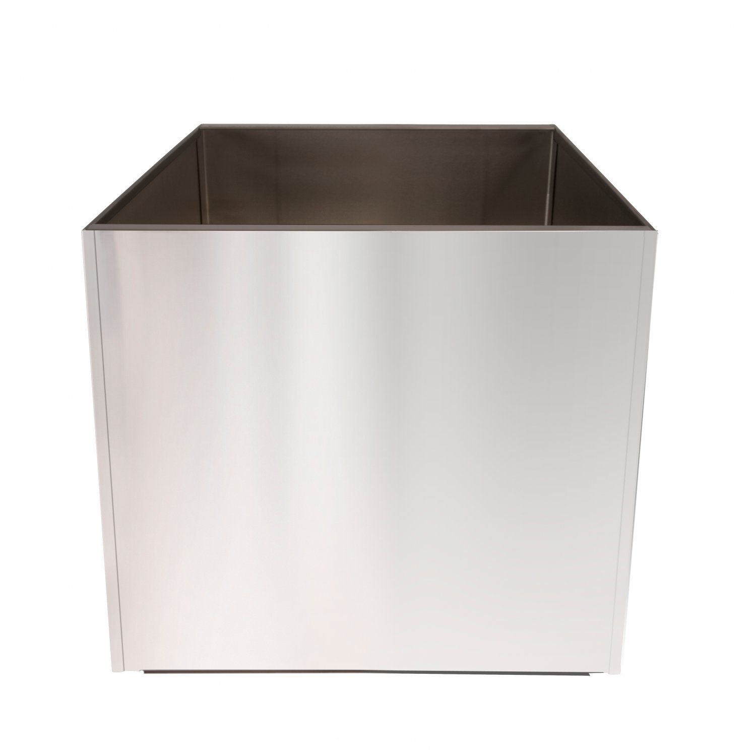Stainless Steel 20 Inch Extra Large Planter Square