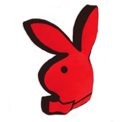 Playboy Classic Bunny Cushion Red