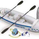 Sea Eagle 330 Inflatable Kayak Includes Seats Paddles and Pump SE330K_D