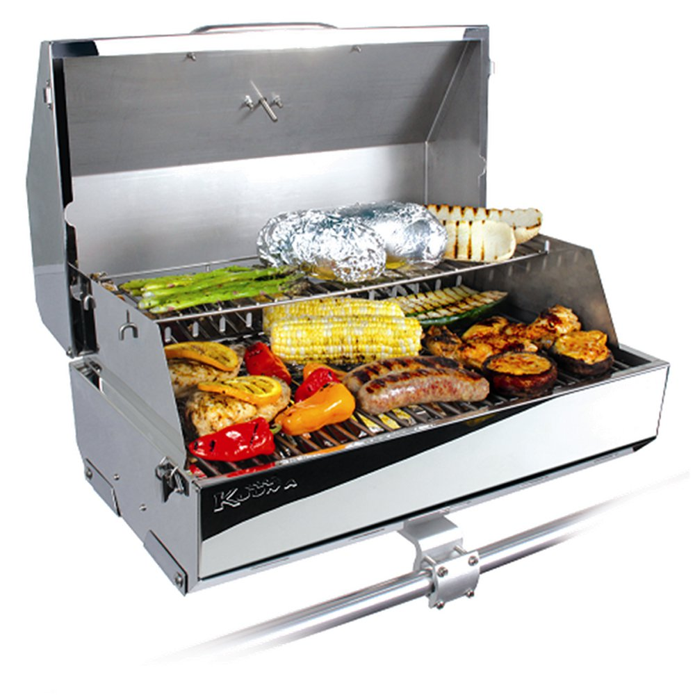 "Kuuma 216 Elite Gas Grill - 216"" Cooking Surface - Stainless Steel"
