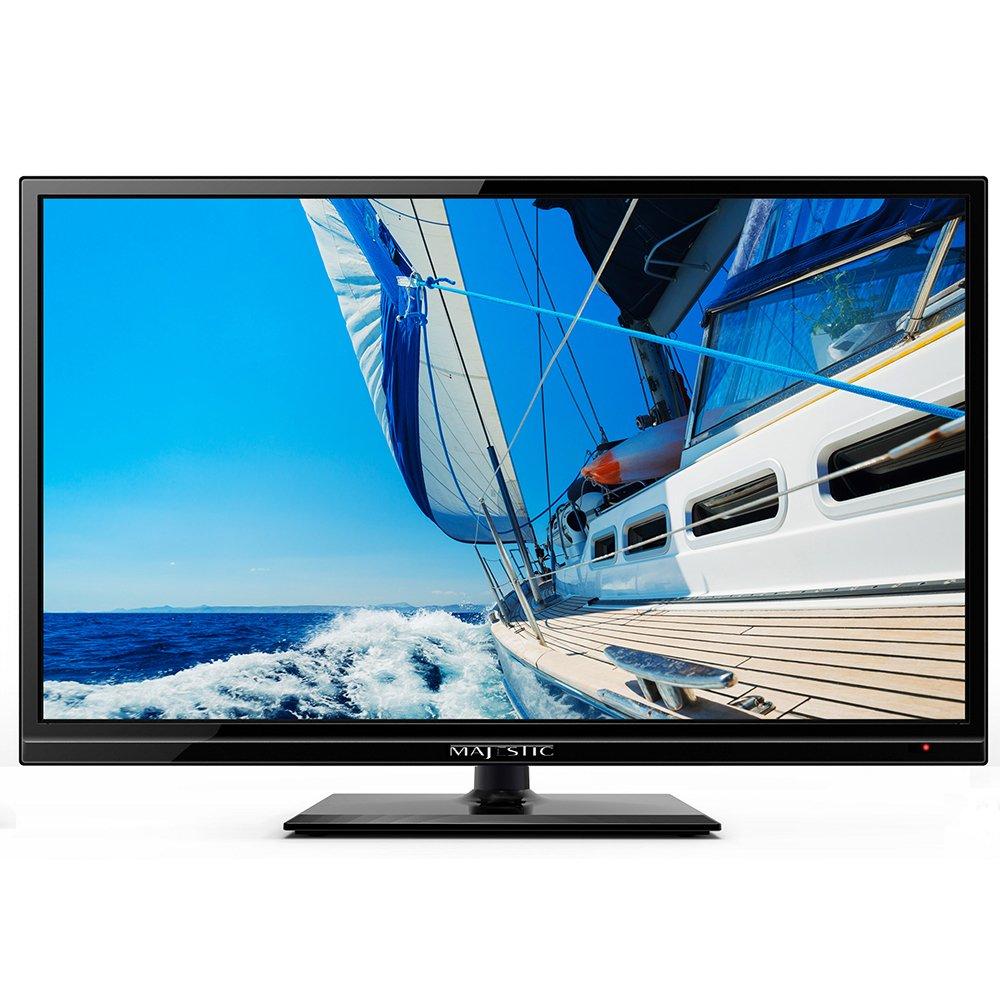 "Majestic 19"" LED Full HD 12V TV w/Built-In Global HD Tuners, DVD, USB LED193GS"
