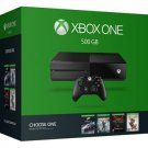 MICROSOFT XBOX ONE 500GB CONSOLE BLACK GAME BUNDLE 5C6-00136