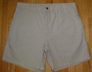 CARHARTT Cotton Canvas Shorts Mens Size 38 NEW --MAKE AN OFFER!!