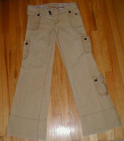 ABERCROMBIE Amelia Bedford Cargo Pants Womens 0, 2, 4, 6  32/32 --MAKE AN OFFER!!
