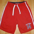 ABERCROMBIE Butt Logo Athletic Shorts Boys Size Large L --Make me an offer!!