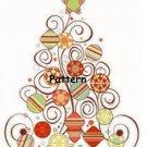 Christmas Tree. Cross Stitch Pattern. (PDF Files)